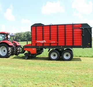 Samosběrací vozy Kverneland 10040 R - 10045 R - 10055 R