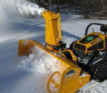 McConnel ROBO - Fréza na sneh