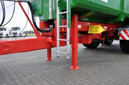 F 3295 Dvojitá hydraulická podporná noha