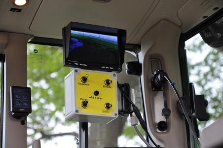 F 5255 Reverzný video systém s LCD monitorom