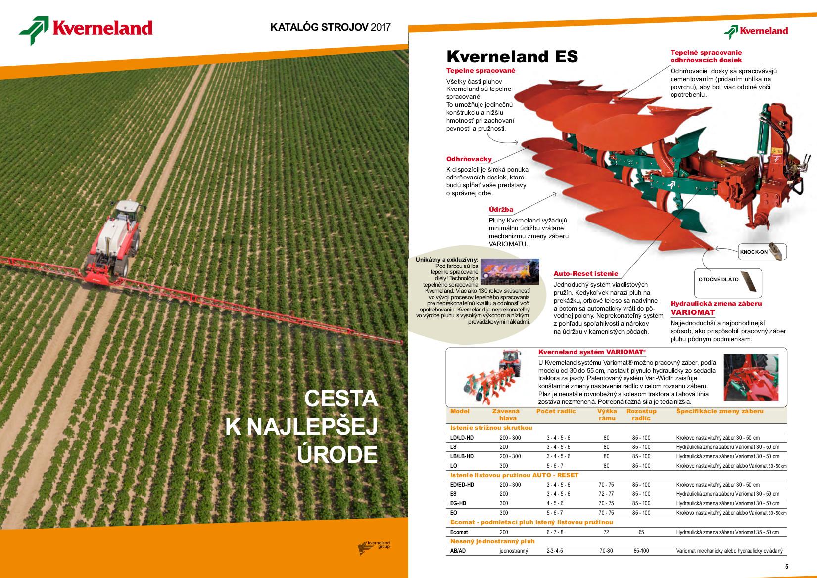 katalog produktov kverneland 2017
