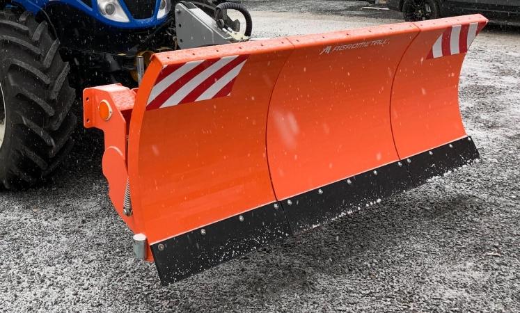 Predná odpružená radlica AGROMETALL OR-T 2500, VIN: 8818
